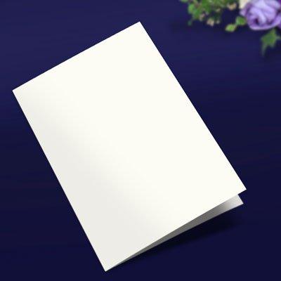 画像1: 表紙(A4横2つ折り用・白無地)