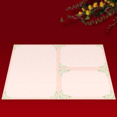 画像1: パンフレット用紙 A4 4つ折り用