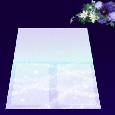 画像2: パンフレット用紙 A4 4つ折り用