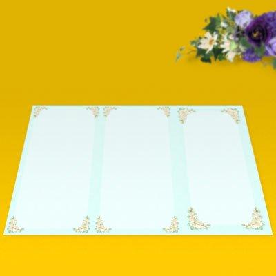 画像2: パンフレット用紙 A4 3つ折り用