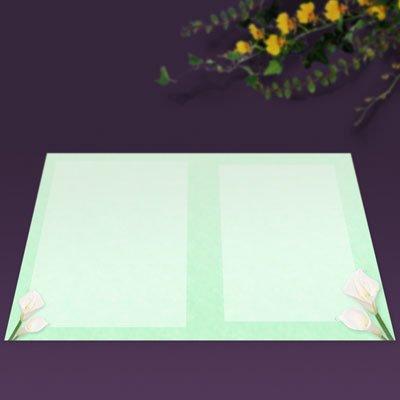 画像2: パンフレット用紙 A5 2つ折り用