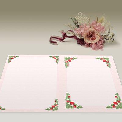画像1: パンフレット用紙 A4 2つ折り用