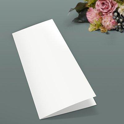画像1: 表紙(A4観音開き/A5縦2つ折り用・白無地)