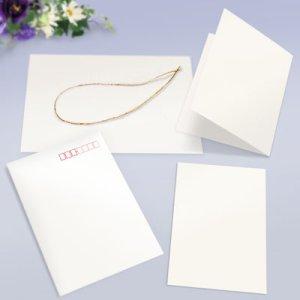 画像: 招待状 ブックレットセット(白無地)
